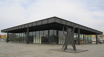 La Neue Nationalgalerie di Berlino